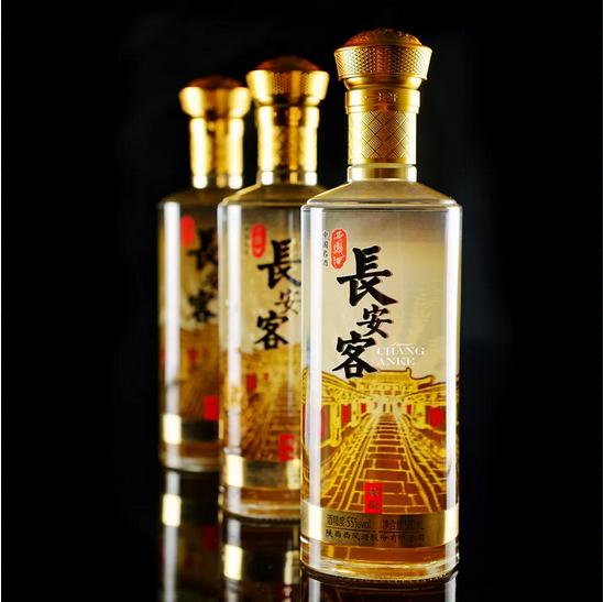 """【陕西高档商务白酒长安客】:""""一带一路""""经济论坛唯一指定用酒"""
