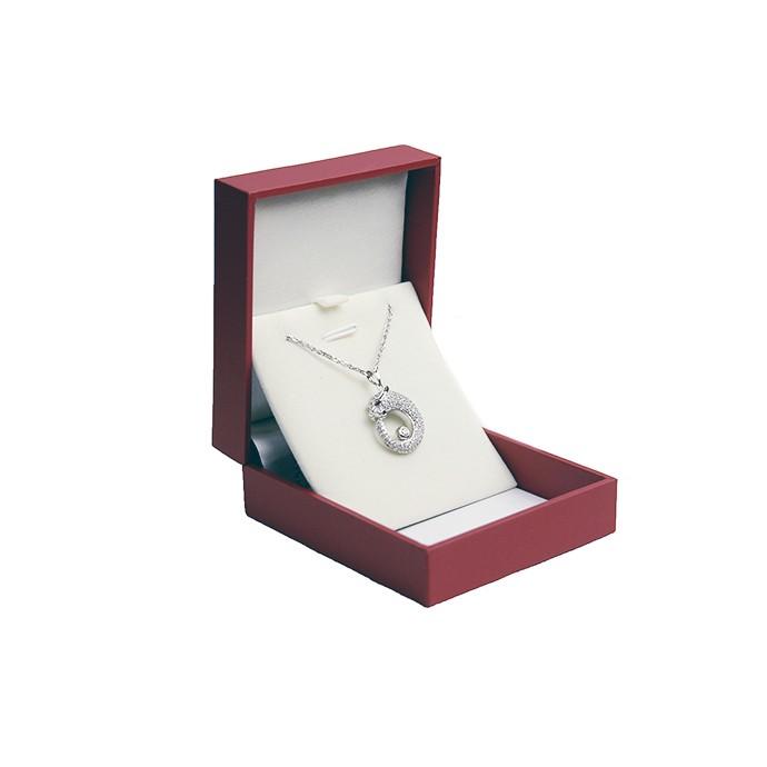 古丽兰 白金项链钻石吊坠礼品收藏