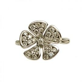 古丽兰 18K金钻石戒指