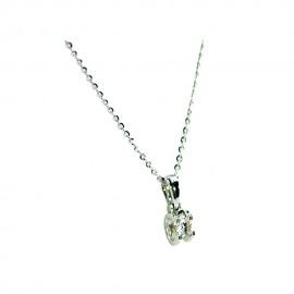 首饰 钻石吊坠+项链