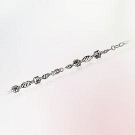 首饰 p951铂金手链 6.59g