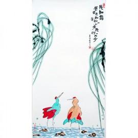 王家春  哲理中国画《先知者贵在先知先知一小步先行一大步》