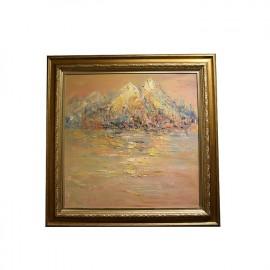 钟国昌   风景油画  《在水一方系列》