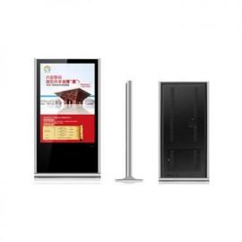 65寸超薄落地液晶广告机 YM650-T 员明光电