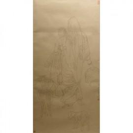 杨光利   白描作品   《印度写生》