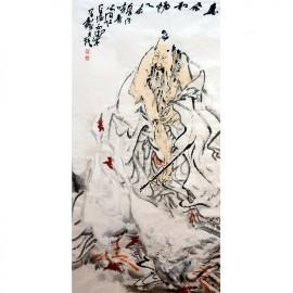刘西洁   人物作品  《惠风和畅》