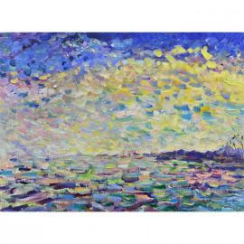 钟国昌    风景作品《飘过的云》