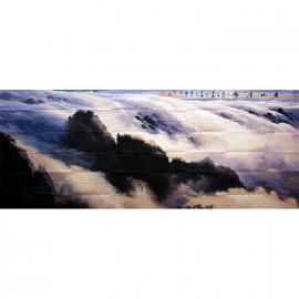 吕少华     山水作品《黄河云海》