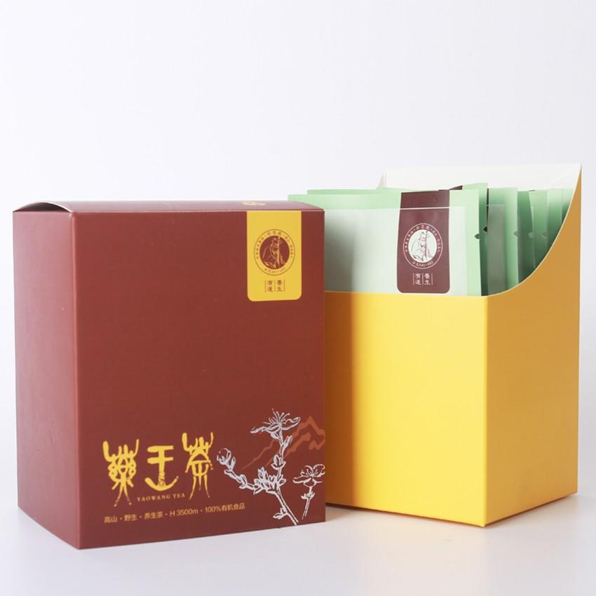 【茶/茶叶】药王茶    时尚体验装      盒装     1.2g*7袋/盒