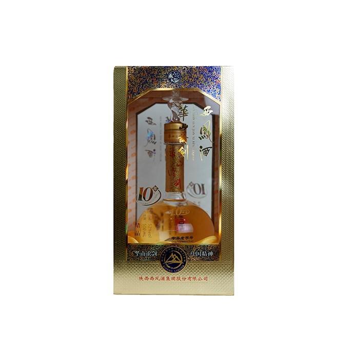 国产白酒 华山论剑十年 复合型白酒 52%VOL 500ML