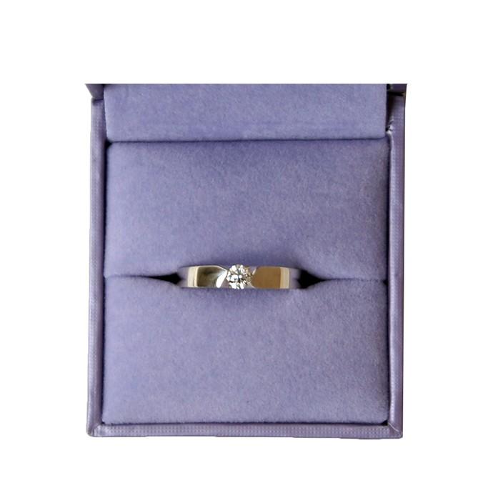首饰 18K金钻石戒指3.54g  诗普琳