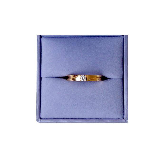 首饰18K金钻石戒指2.58g  诗普琳