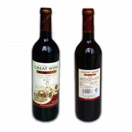 18年蛇龙珠干红葡萄酒12度750ml