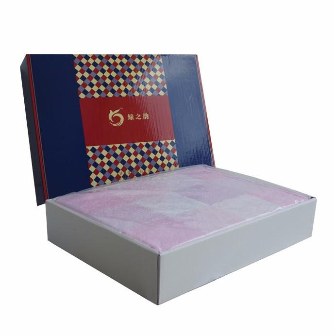 【毛巾被】绿之韵格调人生毛巾被礼盒