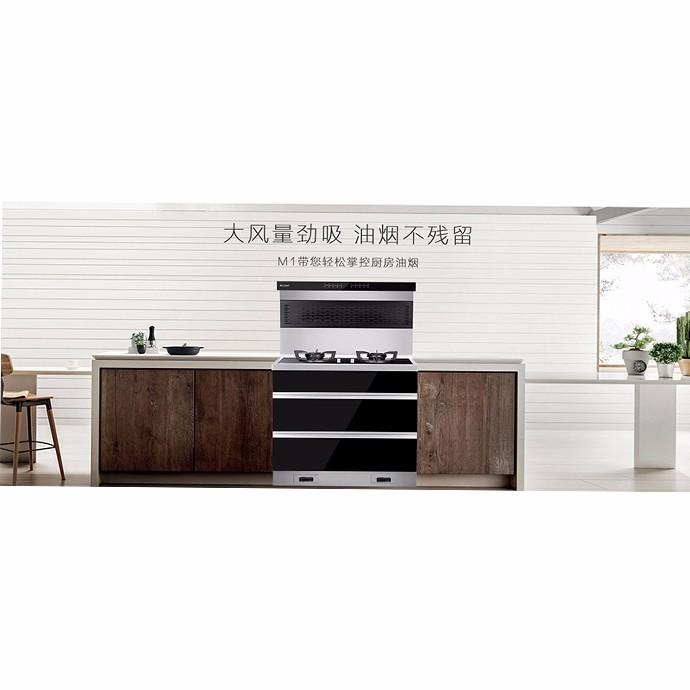 【厨房用品】力巨人超级油烟机-M1(集成灶)