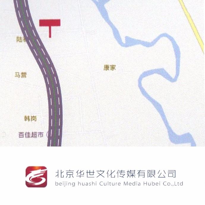 【华世户外广告媒体】团山大道2面T型三面翻立柱 5m*15m(资费按年计算)