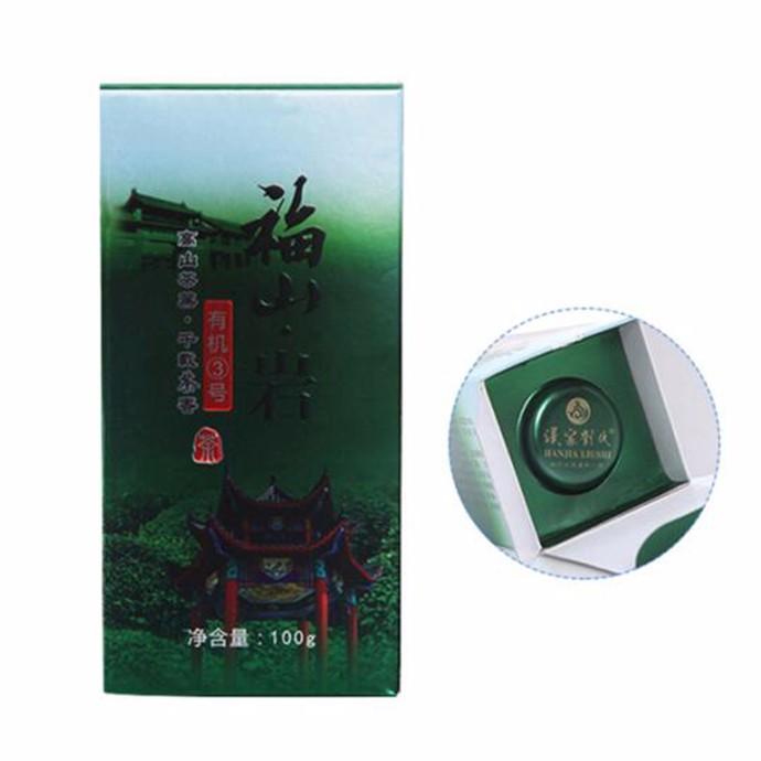 【绿茶】福山 ·岩有机3号100g(罐)