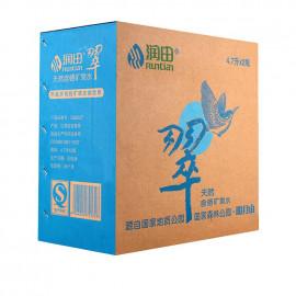 【矿泉水/纯净水】润田翠天然含硒矿泉水  4.7L*2桶/箱