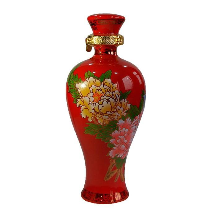 西凤酒国花瓷10年  100ml  45%vol 绵柔凤香型白酒