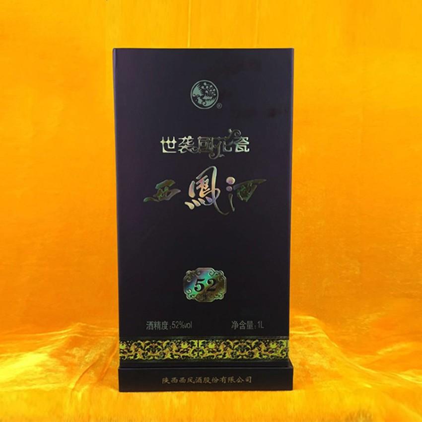 西凤酒   国花瓷   世袭1L    52%vol   凤香型国产白酒