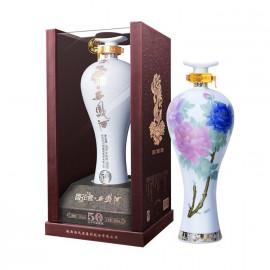 西凤酒 国花瓷50年52%vol 500ml 凤香型白酒 国产白酒
