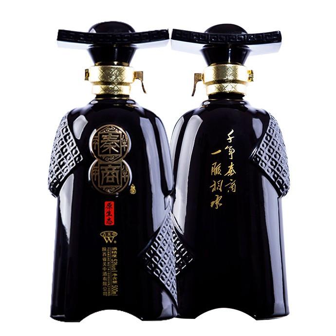 秦商酒 凤兼浓型白酒 500ml 53度   单瓶