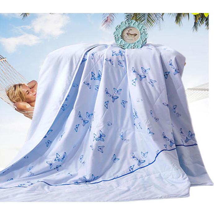 夏凉被 被子 40斜纹全棉面料被面 填充100%聚酯纤维