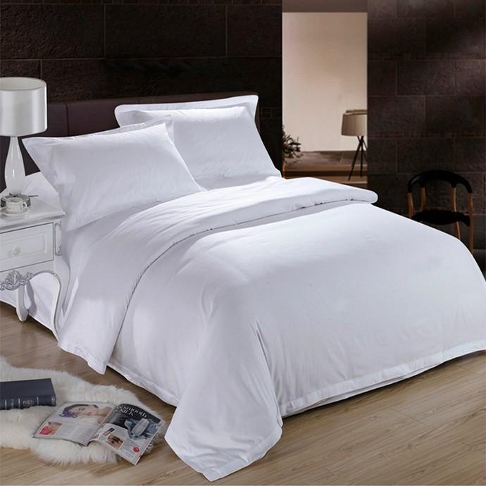 酒店被套白色   床上用品    100%棉    60S*40S    路安特