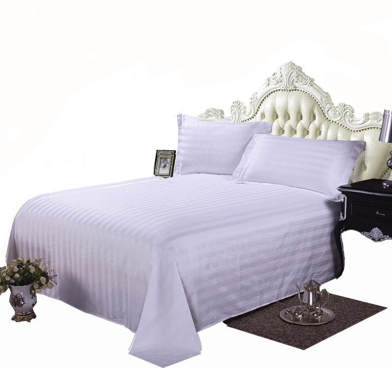 酒店床单白色   床上用品   100%棉60S*80S    路安特
