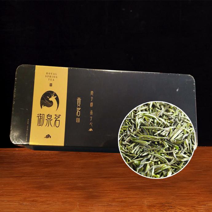 茶叶 绿茶 御泉茗贡茗(黑金)100g(2.5g*40袋)