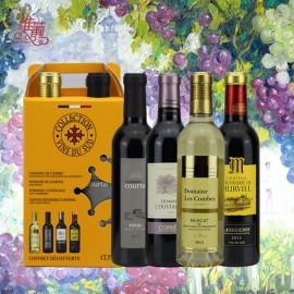 维葡 法国朗格多克葡萄酒精选套装原瓶原装进口