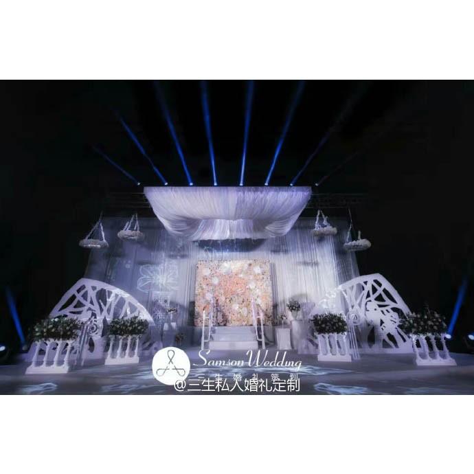 婚庆服务婚礼策划  现代风格  巴黎舞台上的婚礼