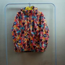 北极熊 NORTHERN BEAR男款 冲锋衣 3D几何印花色NB150521款两件套冲锋衣