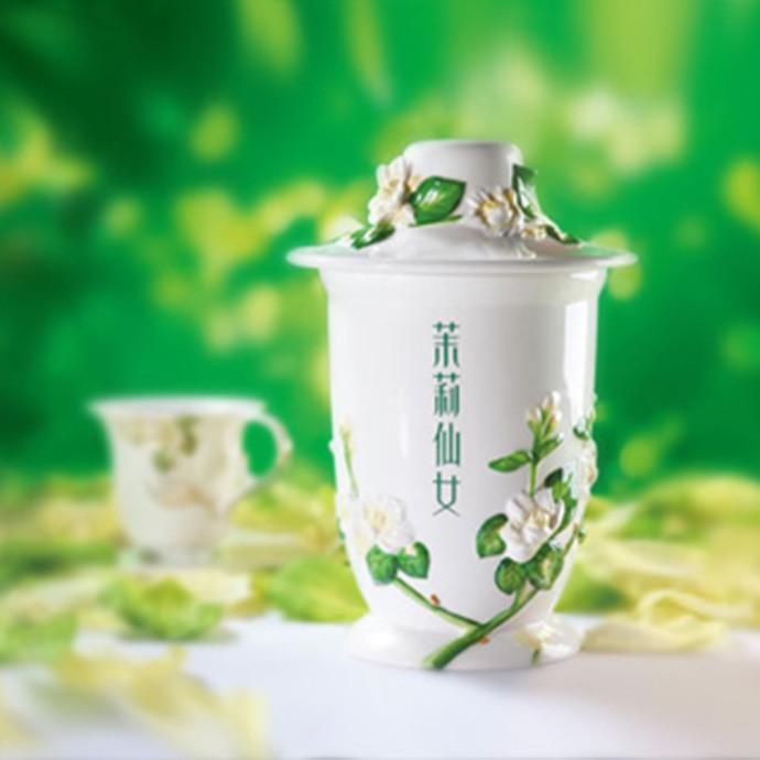 茉莉花茶  茉莉仙女【情人礼品】 绿茶茶胚 花茶