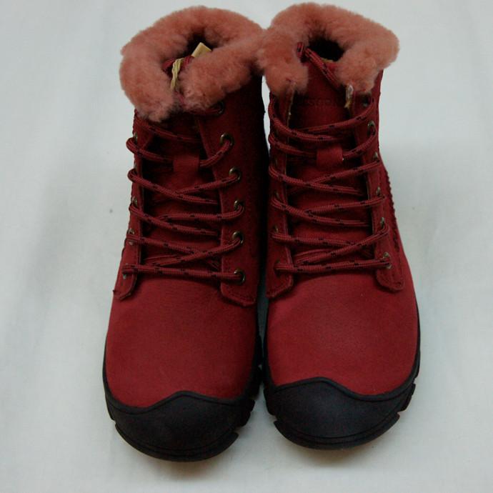 雷速 RESOON 女鞋 酒红色 X34WDL-41款 棉鞋