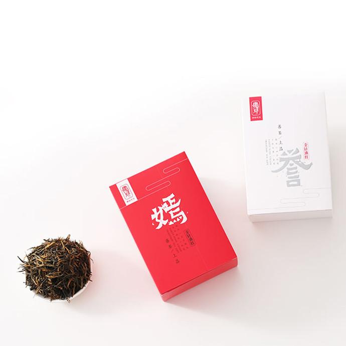 嫣誉云南滇红 一芽一叶 百年老树龄 性价比极高 500g*4盒 礼盒装