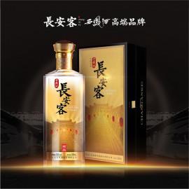 长安客·西凤酒    藏品凤香型    55%vol   500ml