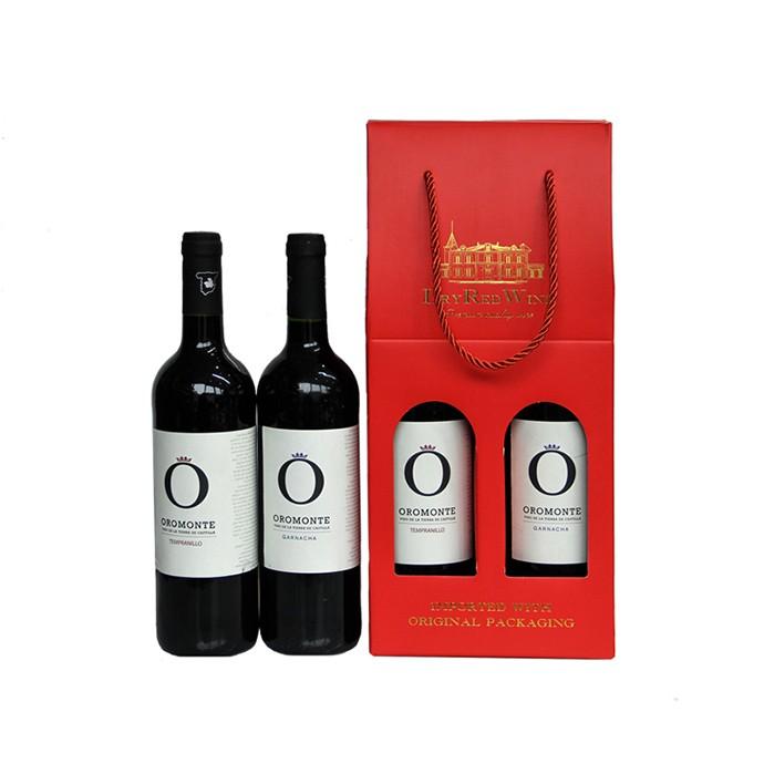 维葡 西班牙欧宝歌海娜/天帕尼罗干红葡萄酒礼盒套餐原瓶原装进口春节礼盒