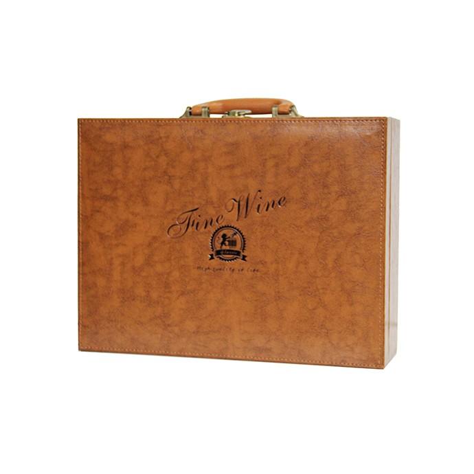 维葡法国亚历山大城堡干红葡萄酒礼盒套餐原瓶原装进口春节礼盒