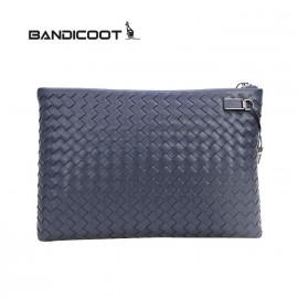 袋鼠(BANDICOOT)男包 手抓包 男士手包D180057-07A蓝色