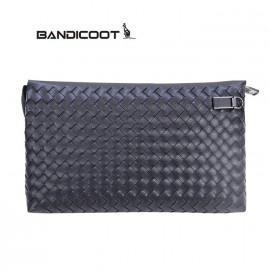 袋鼠(BANDICOOT)男包 手抓包 男士手包D180057-06黑色