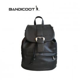 袋鼠(BANDICOOT)女包 时尚女包 女士双肩包L181070A黑色