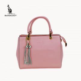 袋鼠(BANDICOOT)女包 时尚女包 女士单肩包 手提包L171922-03B粉红色