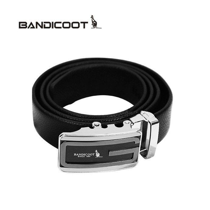 袋鼠(BANDICOOT)腰带皮带 男士皮带 R163452-01 黑色