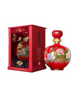 西凤酒 国花瓷 55°  凤香型1500ml(3斤装)精品白酒 西凤酒厂原浆陈酿