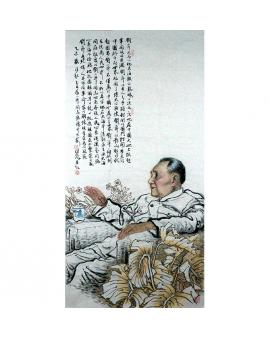 杨佳焕 人物画 《邓小平》