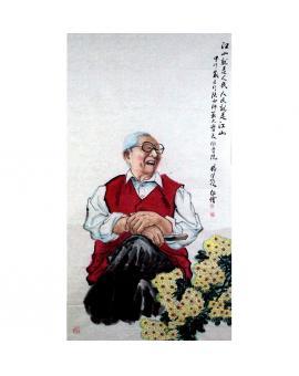 杨佳焕 人物画《习仲勋》