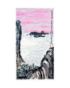 王家春  哲理中国画《仿白石笔意》